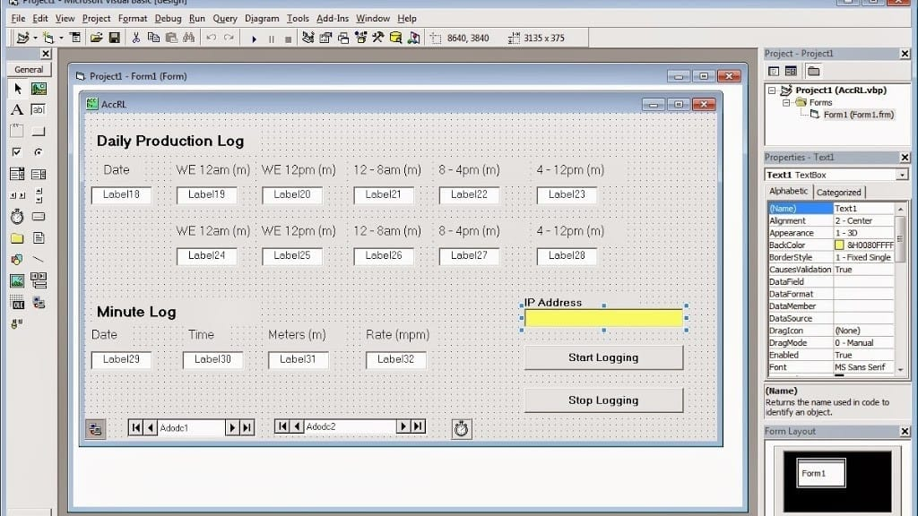 visual basic example | Acc Automation