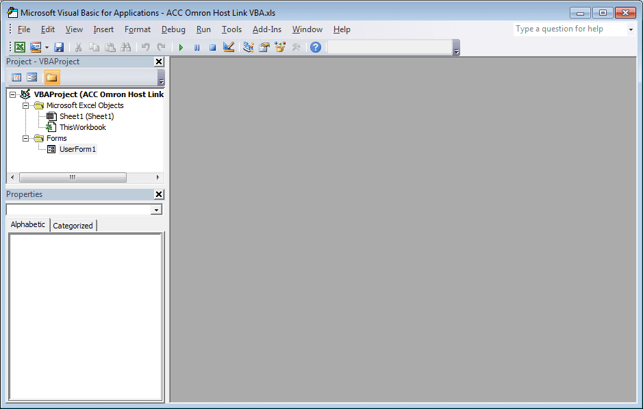 How to Implement the Omron Host Link Protocol Part 2 – VBA