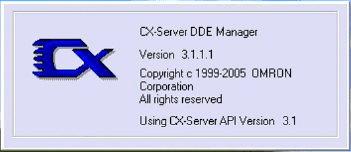 Omron CX-Server DDE 01-min