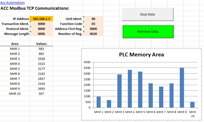 Modbus TCP using VBA Excel 120-min