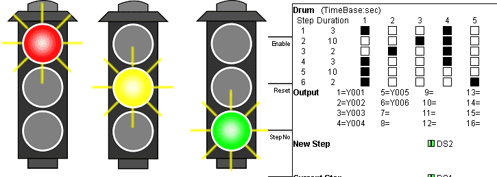 plc programming examples traffic light acc automation