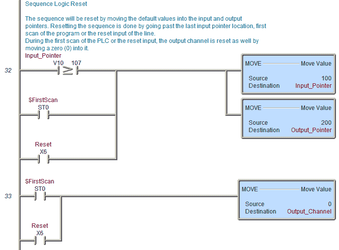 plc programming example pick and place acc automation
