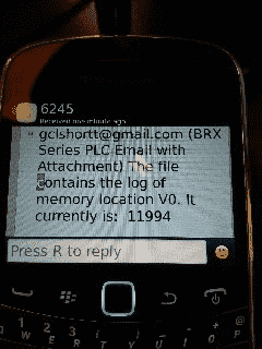 BRX Do-More PLC Email – Text SMS Messaging Gmail