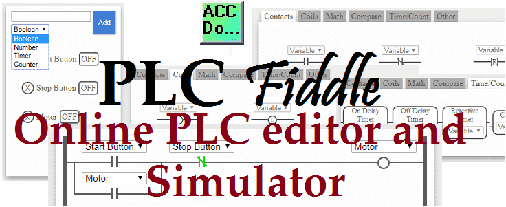 PLC Fiddle – Online Editor and Simulator in your Browser