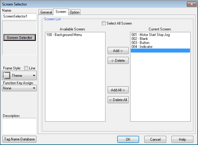 C-More Micro HMI Object Buttons and Indicators