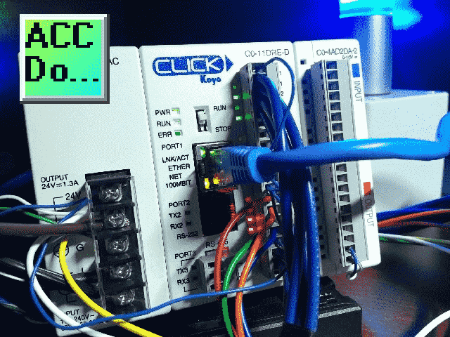 Wiring Push Buttons and Selector Switch to Click PLC | Acc