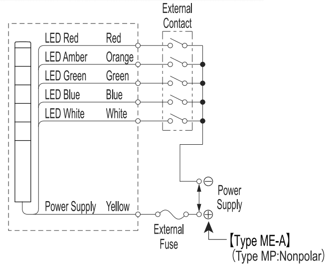 wiring stack light to click plc acc automation Click Wiring Diagram