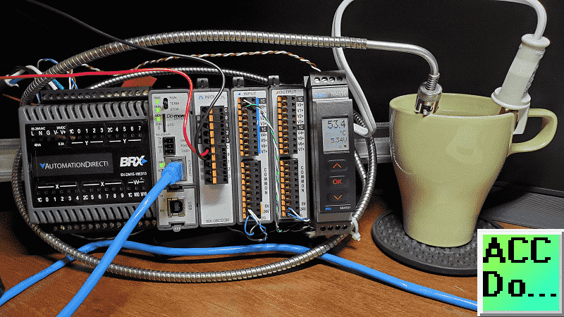 BRX (Do-More) PLC PID with PWM Output
