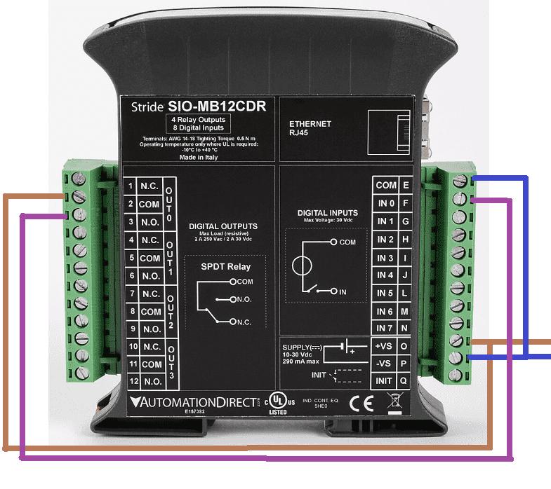 BRX Do-More PLC Modbus Remote IO